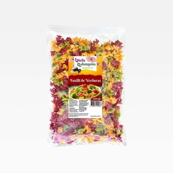 Fusili de verduras Bella Abanquina