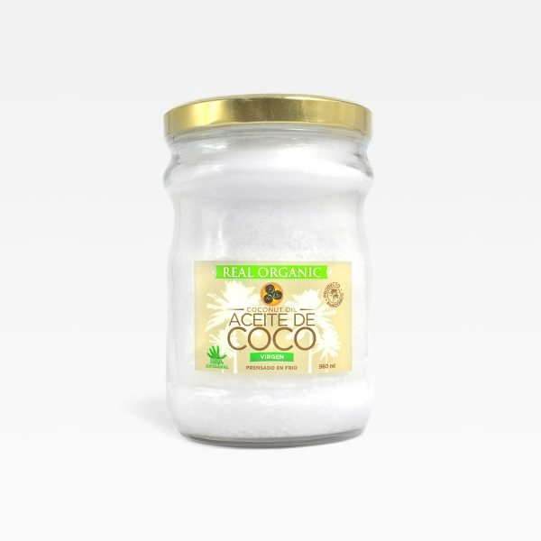 Aceite de coco Real Organic 960 ml