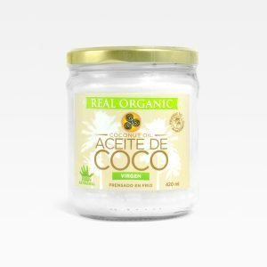 Aceite de coco Real Organic 420 ml