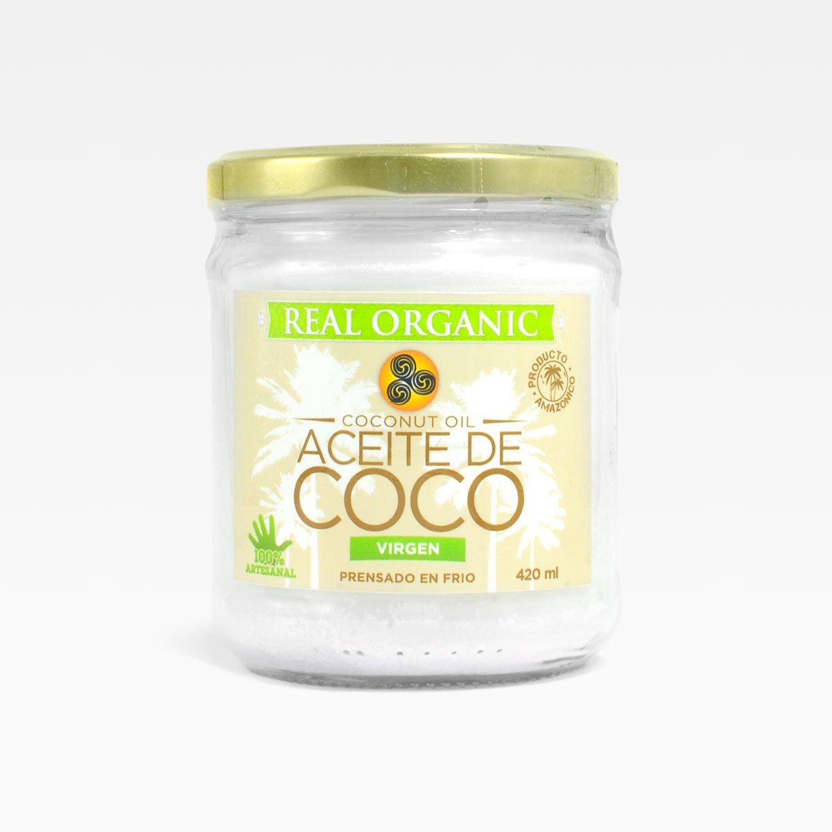 Aceite de coco Real Organic 420 ml