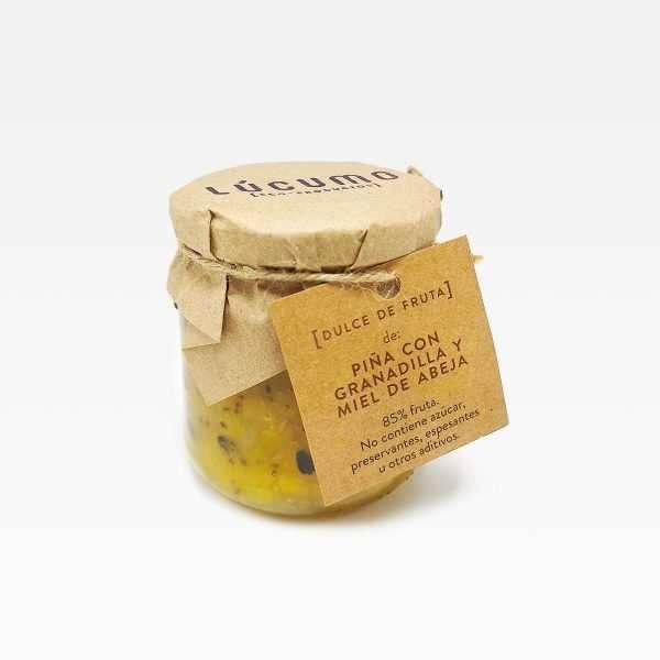 Lúcumo piña granadilla miel de abeja