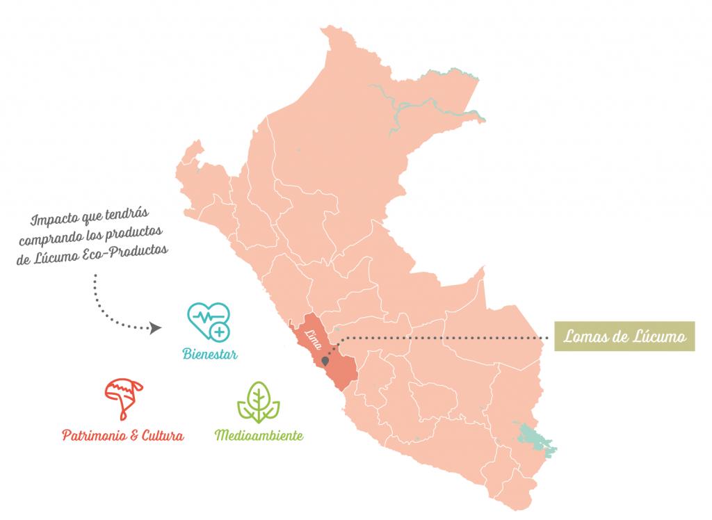 Lucumo Eco Productos Map